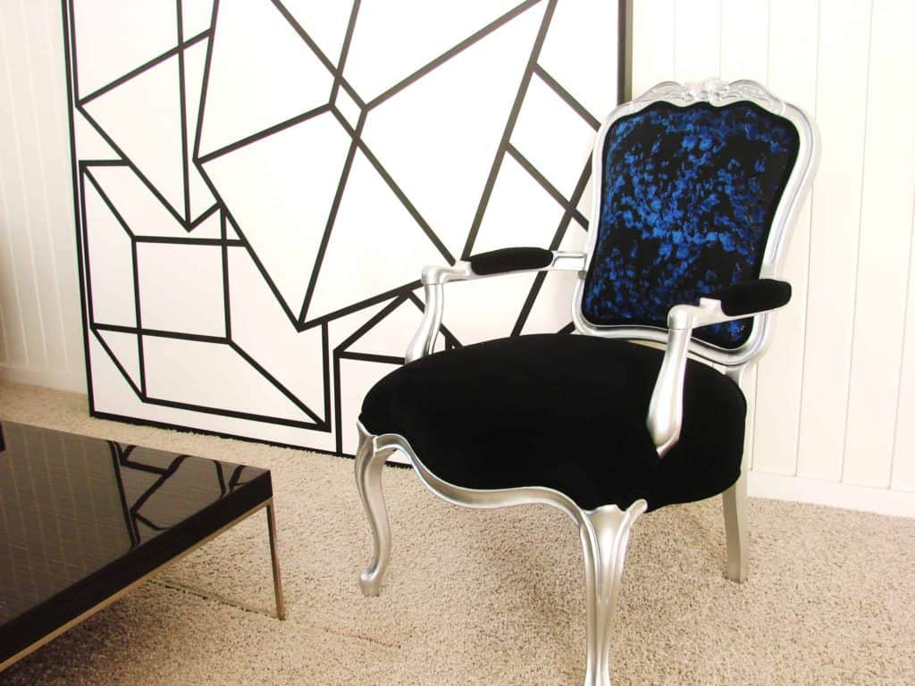 Bergere chairs and Louis chairs